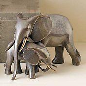 Loet Vanderveen  Tender Silver Elephants | Gumps | #163100 | 1500.00