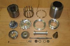 Rc jet engine parts Micro Jet Engine, Jet Engine Parts, Turbine Engine, Gas Turbine, Reactor, Casting Aluminum, Aluminum Uses, Rocket Engine, Diy Tech