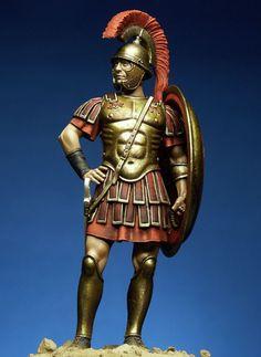 Roman Tribune, III c. B.C., 75mm Box Set - Ancient Rome & Italics (x1 fig)
