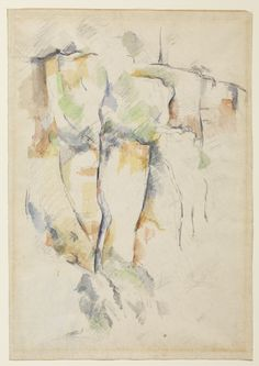 watercolor cezanne