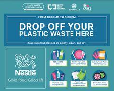 Lemon GreenTea: Nestlé Philippines partners with Plastic Credit Ex... Plastic Waste Management, Sm Mall Of Asia, Container Van, Plastic Cups, Philippines, Lemon, Product Launch, Collection