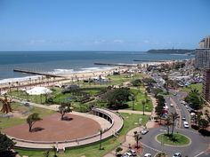 Picturesque Durban on a sunny afternoon. Durban South Africa, South Afrika, Paises Da Africa, Out Of Africa, Beautiful World, Beautiful Places, Beautiful Pictures, Amazing Places, City By The Sea