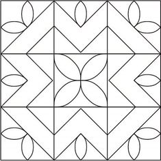 Best free motion quilting designs nine patch 39 Ideas Quilting Stitch Patterns, Quilt Square Patterns, Sewing Machine Quilting, Machine Quilting Patterns, Barn Quilt Patterns, Quilting Ideas, Block Patterns, Diy Quilting Templates, Quilt Tutorials