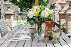 Chelsea - table decor in the garden