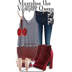 """Marceline the Vampire Queen"" by lalakay on Polyvore"