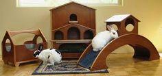 indoor bunny play house