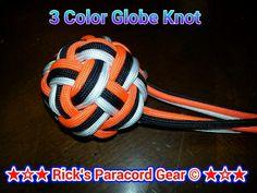 3 color globe knot