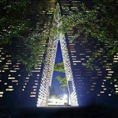 ARC, em Nikola-Lenivets, Rússia. Projeto.de Bernaskoni. #arts #architecture #arte #arquitetura #decor #design #decoração #interiores #interior #projetocompartilhar #shareproject #wood #confort #conforto #madeiraeconforto #madeira