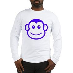 f86f1a7f10cfc Funny monkey face Shirt Funny lovely monkey face t-shirt for men