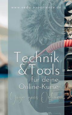 Technik und Tools für deine Online-Yoga-Kurse Ayurveda, Live Stream, Online Yoga, Movie Posters, Human Body, Film Poster, Billboard