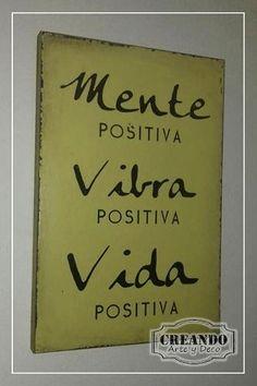carteles cuadros vintage frases 20x30cm mdf 15mm