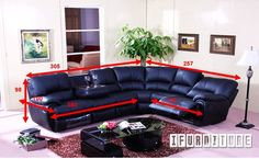 PALO ALTO Corner System , Sofa & Ottoman, NZ's Largest Furniture Range with Guaranteed Lowest Prices: Bedroom Furniture, Sofa, Couch, Lounge suite, Dining Table and Chairs, Office, Commercial & Hospitality Furniturte