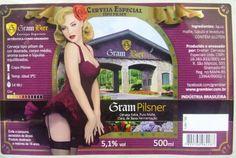 Embalagem de Gram Bier Pilsner