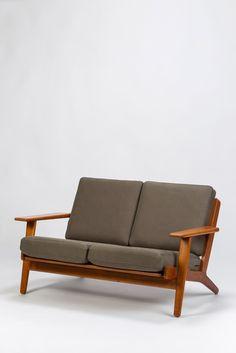 Hans Wegner Sofa Two Seater GE-290