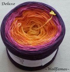 Online-Shop Andiki-Perlen - Wollfamos ~ Handgewickeltes Farbverlaufsgarn
