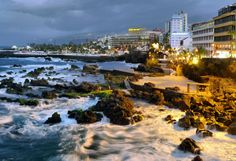 www.fu-tenerife.com  #puertodelacruz #santelmo #seaview #sunset #spanish #travel #fun