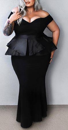 Plus size outfits Plus size outfits Outfits Plus Size, Curvy Outfits, Plus Size Dresses, Curvy Girl Fashion, Look Fashion, Plus Size Fashion, Fashion Women, Modelos Plus Size, Looks Plus Size