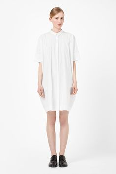 $115 square-cut cotton dress, cos