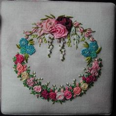 Silk Ribbon Embroidery | Silk Ribbon Embroidery