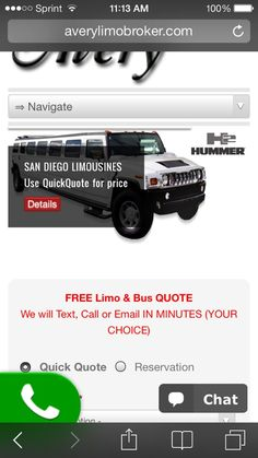 """Averylimobroker.com  Promo code """"$35off"""" For San Diego transportation for any date use quickquote at http://averylimobroker.com"""