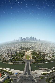 A panorama of Paris #Travel #Photography