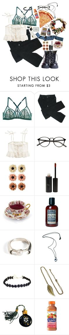 """inspired; miley cyrus"" by kathleen216 ❤ liked on Polyvore featuring La Perla, Marc by Marc Jacobs, Madewell, mae, Vincent Longo, TC Fine Intimates, Pamela Love, Rodarte and Friis & Company"