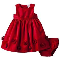 JUST ONE YOU Made by Carters Infant Girls' Dress with Ribbon/Floral... ($60) via Polyvore