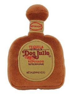 Dog Diggin Designs Dog Julio Tequila Toy - Free Shipping