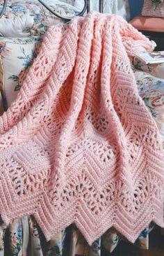 Crochet Afghans 70496 Learn to Crochet Ripple Afghans Crochet Afghans, Motifs Afghans, Crochet Ripple Afghan, Crochet Blanket Patterns, Crochet Stitches, Crochet Baby, Knit Crochet, Baby Afghan Patterns, Baby Afghans