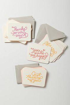 Notizkartenset für jeden Anlass