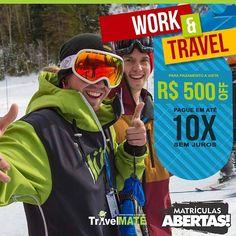 Work and Travel:Inscreva-se já! #workandtravel #work #trabalhenoexterior #usa #mytravelmate