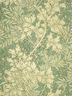 Not fully convinced this is an actual Wm. Morris design, but it's influenced by at the very least - lovely colors