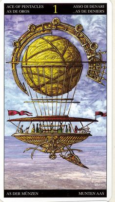 Ace of Pentacles ~ Universal Fantasy deck