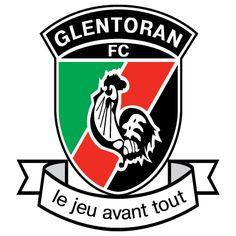 1882, Glentoran (Belfast, Northern Ireland) #Glentoran #Belfast #NIFL (L5791)