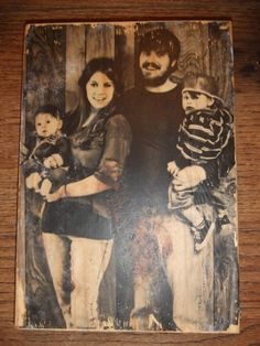 Transfer photo onto Wood