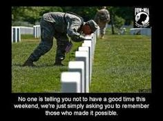 memorial day is not about bbq