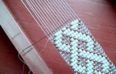 Bracelet Crafts, Bracelets, Beaded Embroidery, Beading Patterns, Weaving, Beads, Yandex, Accessories, Jewelry