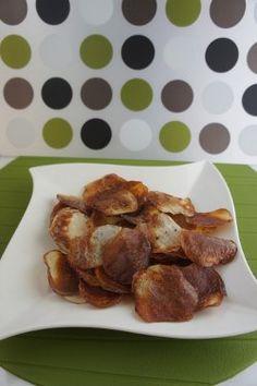 Oven Baked Potato Chips #recipe
