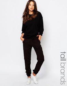 19,99€ ASOS Imagen 1 de Pantalones de chándal de sarga Twirl de New Look Tall
