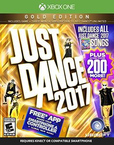 Just Dance 2017 Gold Edition Includes Just Dance Unlimited subscription  Xbox One ** Click image to review more details. Note:It is Affiliate Link to Amazon.
