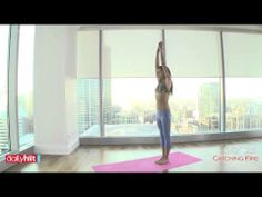 Catching Fire 30 Day Challenge   Day 25 - Yoga - YouTube
