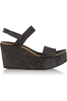 dc5df234aecd Pedro Garcia - Dulce suede platform sandals