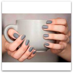 mani monday: matte gray