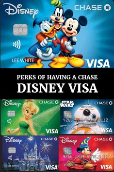 Disneyland Trip, Disneyland Resort, Disney Vacations, Disney Trips, Disney Rewards Card, Disney Cards, Debit Card Design, Disney Visa, Disney Designs