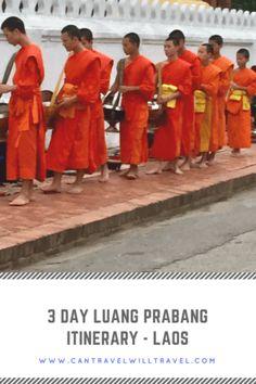 3 Day Luang Prabang Itinerary Pin 2
