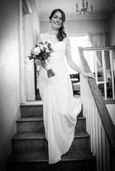Photo by Simon King Cardiff, Bridal Boutique, Beautiful Bride, One Shoulder Wedding Dress, Wedding Photos, Bridesmaid, King, Weddings, Wedding Dresses