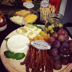 Fried toes, authentic fingers, swamp mucus, cheese board, Halloween theme party