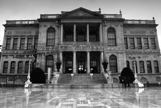 Dolmabahce palace. Just one of a few pictures that I edited to black and white. http://turkishtravelblog.com/istanbul-pictures