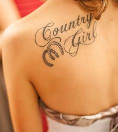 Country Girl Horseshoe Tattoo  #cowgirl #countrygirl #tattoo #tattoos #cowgirltattoo #cowgirltattoos #countrygirltattoo #countrygirltattoos   https://www.islandcowgirl.com