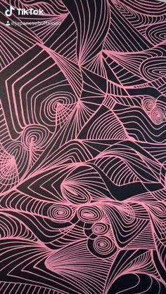 Zentangle Drawings, Ink Pen Drawings, Islamic Art Calligraphy, Illusion Art, Line Illustration, Visionary Art, Pen Art, Psychedelic Art, Aesthetic Art